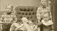 XIX a. mirusių vaikų nuotraukos (nuotr. YouTube)