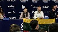 """""""Eurovizijos"""" spaudos konferencija (nuotr. tv3.lt)"""