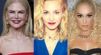 Nicole Kidman, Madonna, Gwen Stefani (tv3.lt fotomontažas)