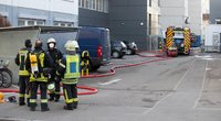 """Vokietijoje per sprogimą """"Lidl"""" būstinėje sužeisti trys žmonės (nuotr. SCANPIX)"""