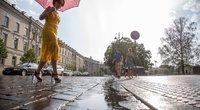 Lietus (nuotr. Fotodiena/Justino Auškelio)