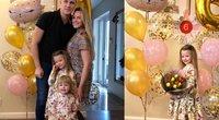 Lina ir Paulius Bagdanavičiai atšventė dukros Paulinos gimtadienį (nuotr. asm. archyvo)