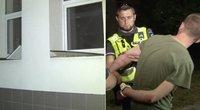 Farai. Išpuolį prieš daugiabučio palanges surengęs vyras – pretenzijų turėjo ir pareigūnams (tv3.lt koliažas)