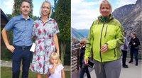 """32 kg numetusi Justyna: """"Bėgau pati nuo savęs"""" (nuotr. asm. archyvo)"""