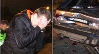 Alytuje BMW trenkėsi į kitą automobilį: tokio radinio nesitikėjo net pareigūnai (nuotr. TV3)