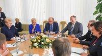 Seimo valdybos pasitarimas su Prezidente  (nuotr. Fotodiena.lt)