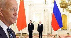 JAV prieš Rusiją ir Kiniją: ar galima autoritarinių valstybių sąjunga?