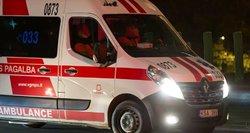 Į Vilniaus ligoninę atvežtas komos būklės jaunuolis