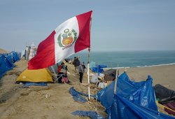 Nepaisant koronaviruso protrūkio Peru ir Ekvadoras renka naujus šalies vadovus