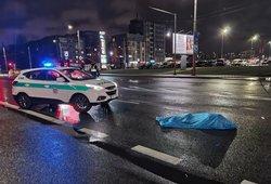 Kruvina nelaimė sostinėje – žuvo automobilio partrenktas jaunuolis