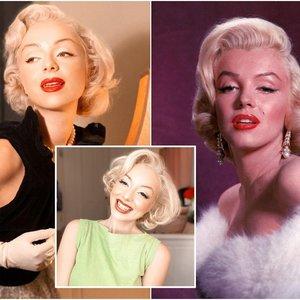Monroe antrininkė apsigyveno savo dievaitės namuose: jų panašumas atima žadą