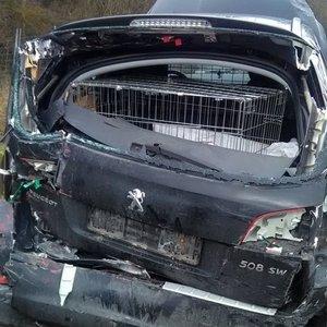 Masinė avarija kelyje Klaipėda-Kaunas: žuvo žmogus, 2 asmenų būklė itin sunki