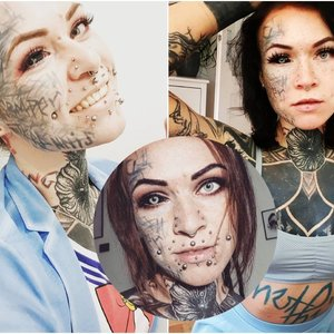 Tatuiruočių entuziastė atskleidė, kuri tatuiruotė buvo pati skausmingiausia: ne, ji ne akyje