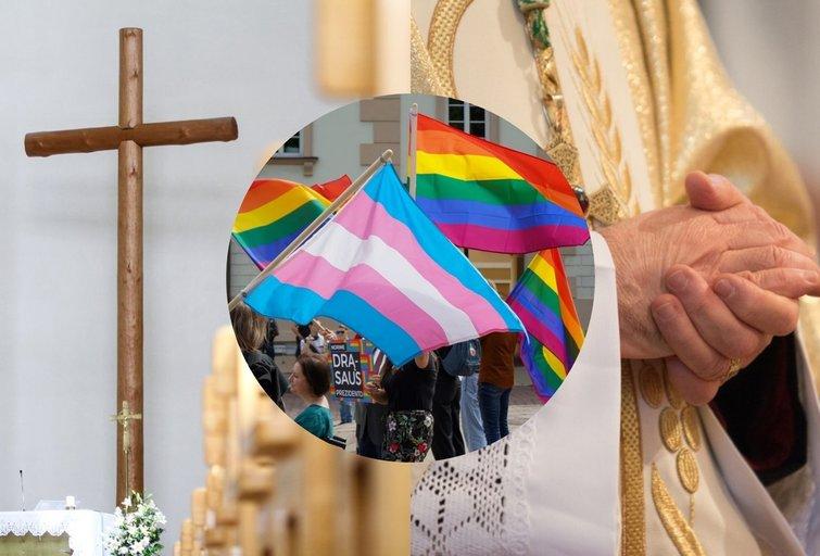 Smūgis bažnyčiai – plinta raginimai atsisakyti krikšto (tv3.lt koliažas)