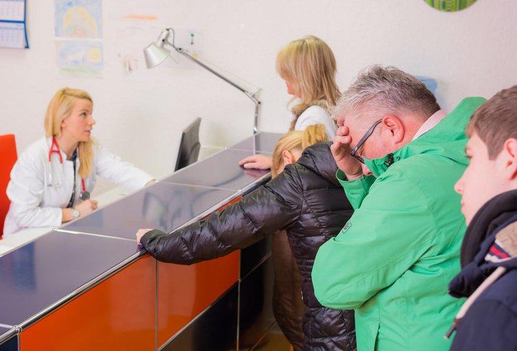 Ligonių eilė (nuotr. Fotolia.com)