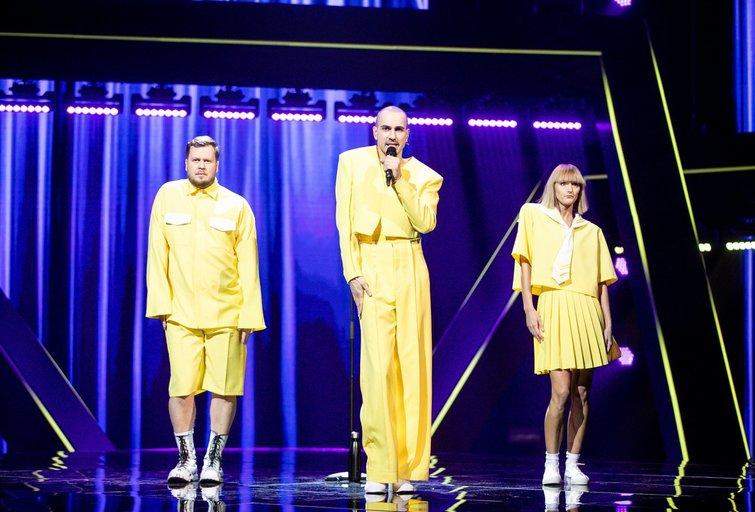 """""""Eurovizijos"""" nacionalinės atrankos """"Pabandom iš naujo!"""" laida (nuotr. Organizatorių)"""
