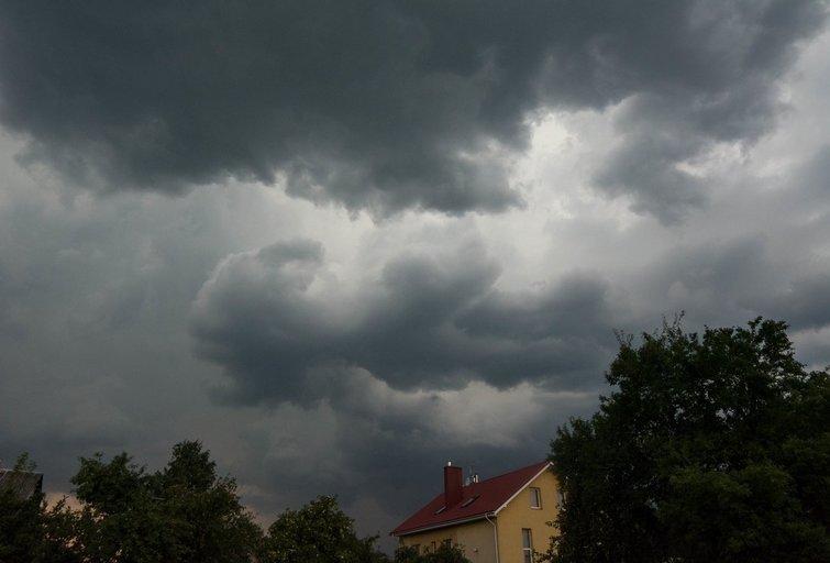 Dangus prieš lietų (nuotr. Fotodiena.lt)