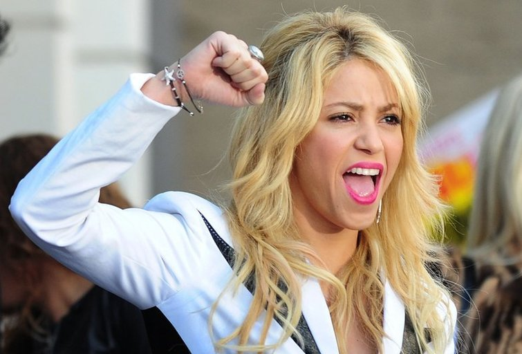 Shakira (nuotr. SCANPIX)