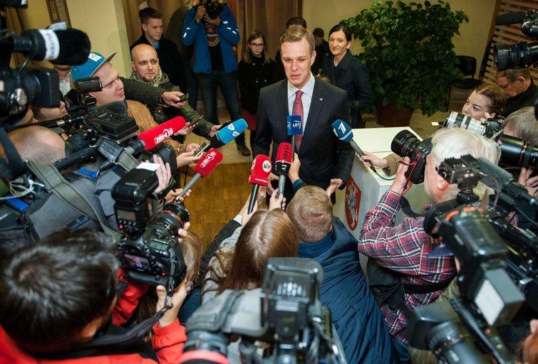 Iškeltos dvi kandidatūros į konservatorių pirmininkus (nuotr. Fotodiena.lt)