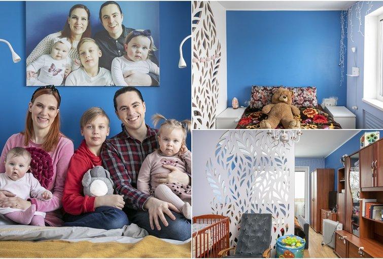 Mažą šeimos miegamąjį pakeitė neatpažįstamai