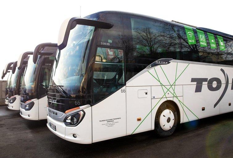 Autobusai (nuotr. bendrovės)