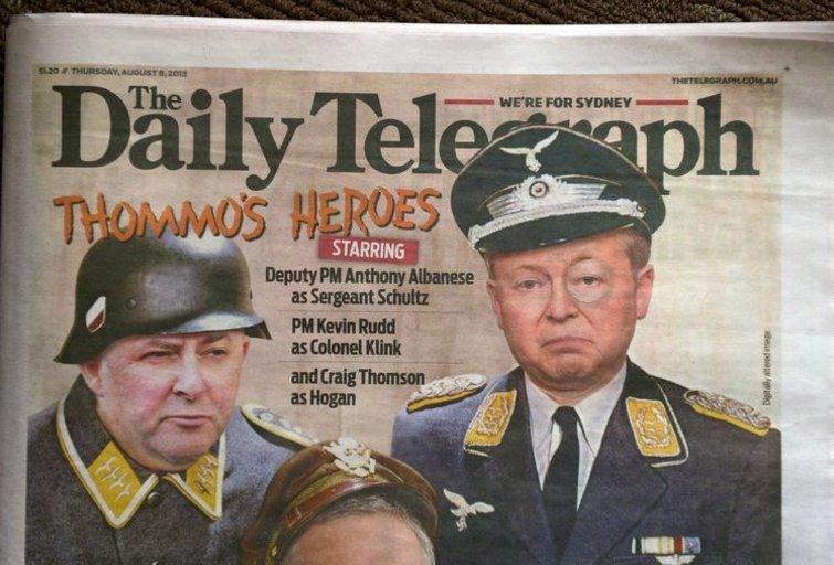 Daily Telegraph (nuotr. SCANPIX)