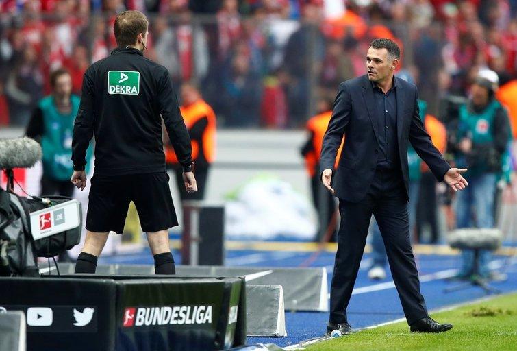"Berlyno ""Hertha"" – Miuncheno ""Bayern"" 2:2 (nuotr. SCANPIX)"