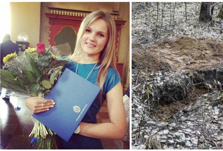 Ievos Strazdauskaitės kūnas buvo rastas apleisto Daukšių aerodromo teritorijoje (nuotr. Facebook ir Giedrės Minelgaitės)