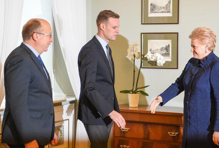 Prezidentės susitinka su Tėvynės sąjungos – Lietuvos krikščionių demokratų atstovais (nuotr. Fotodiena.lt)