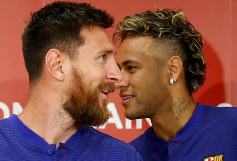 Lionelis Messi ir Neymaras (nuotr. SCANPIX)