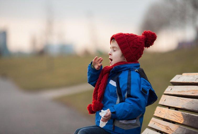 Alergiškas vaikas (nuotr. Fotolia.com)