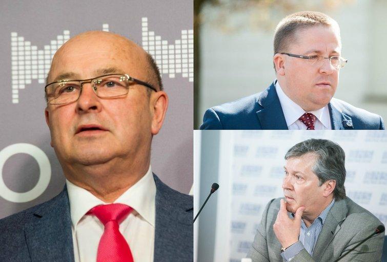 V. Matijošaitis, Š. Vaitkus, S. Grinkevičius (tv3.lt fotomontažas)