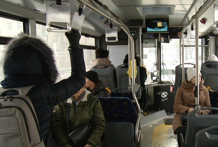 Viešasis transportas (nuotr. stop kadras)