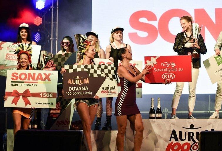 108 km moterų iššūkio lenktynės. (nuotr. Organizatorių)