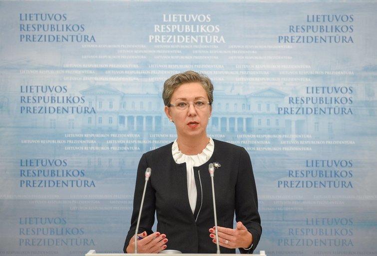 Prezidentės patarėja Lina Antanavičienė (nuotr. Fotodiena/Justinas Auškelis)