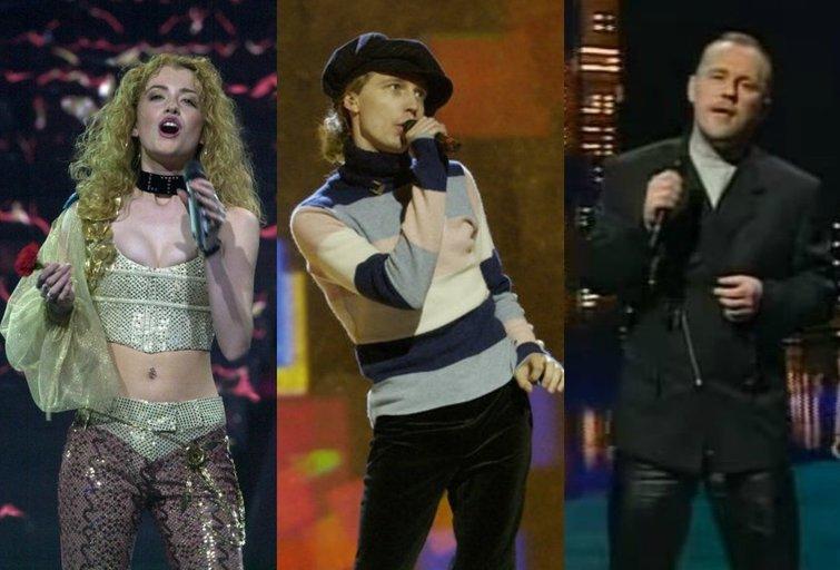 """Lietuvos atstovų stilius """"Eurovizijoje"""": kuris atrodė geriausiai? (nuotr. tv3.lt fotomontažas)"""