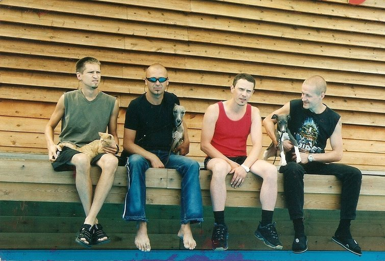 Lietuvos roko muzikos grupė RebelHeart (nuotr. Organizatorių)