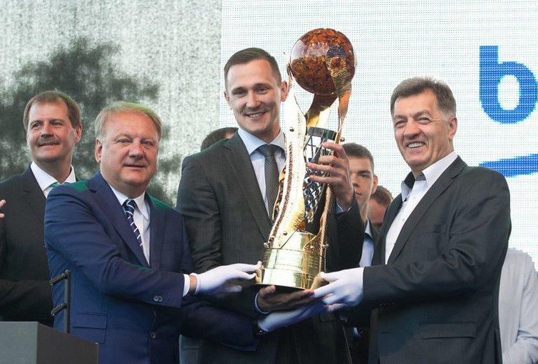 LKL sezono uždarymo šventė (nuotr. Tv3.lt/Ruslano Kondratjevo)