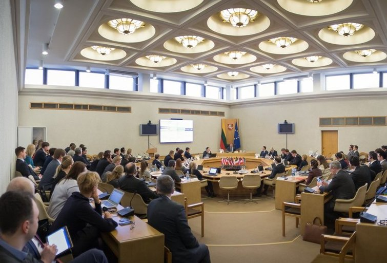 Vyriausybė (nuotr. LRVK | Darius Janutis)