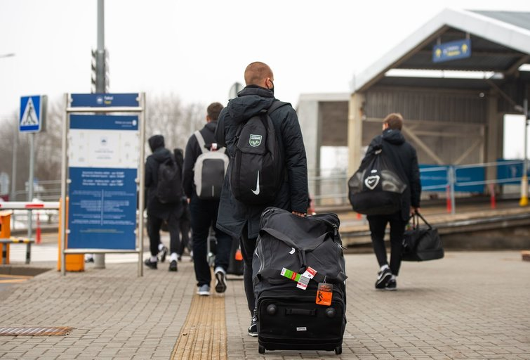 Keleiviai (nuotr. Fotodiena/Justino Auškelio)