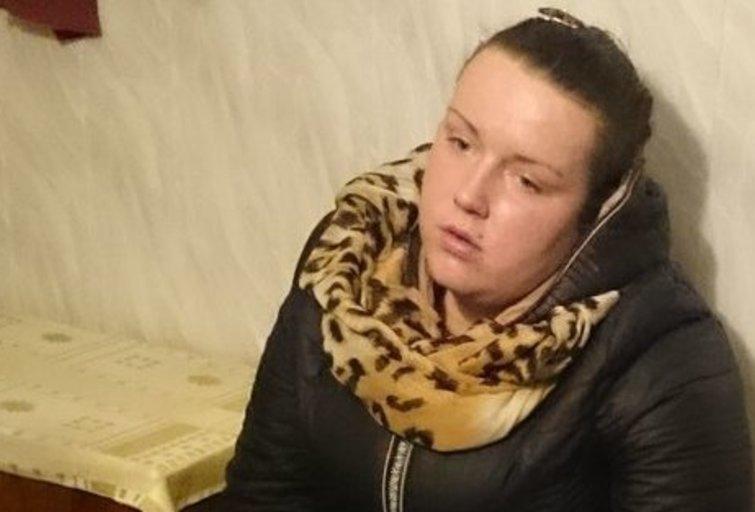 Sulaikyta moteris (nuotr. Policijos)