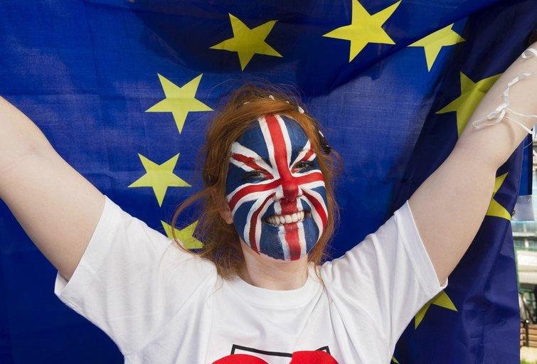 Didžiosios Britanijos referendume – pirmieji rekordai (nuotr. SCANPIX)