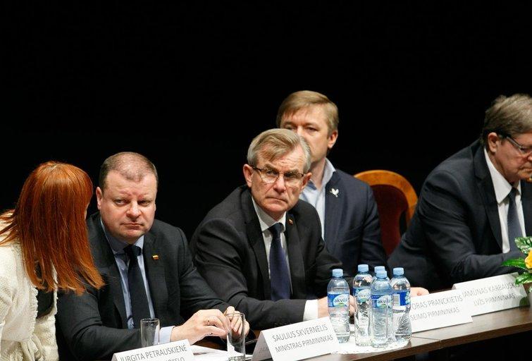 Diskusija dėl aukštojo mokslo pertvarkos plano (nuotr. Tv3.lt/Ruslano Kondratjevo)