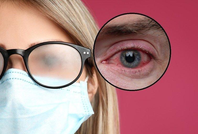 Dėvint kaukę akiniai daugiau nerasos: ekspertė davė auksinį patarimą (tv3.lt fotomontažas)