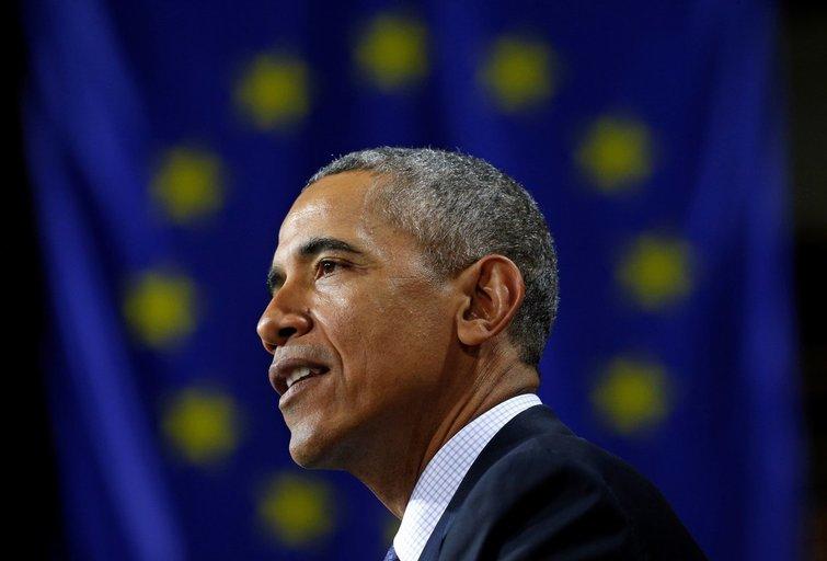 JAV prezidentas Obama ragina kurti stiprią, vieningą Europą  (nuotr. SCANPIX)