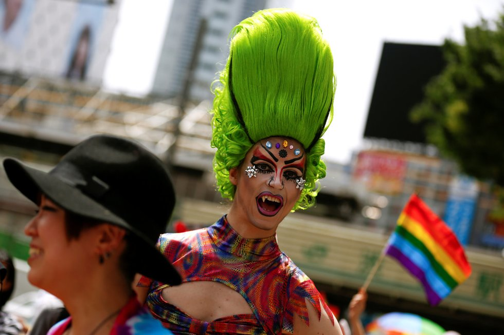 Tokijo LGBT paradas 2016