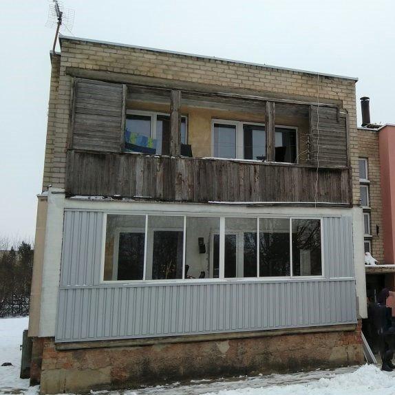 Namas kuriame gyvena Diržinskai
