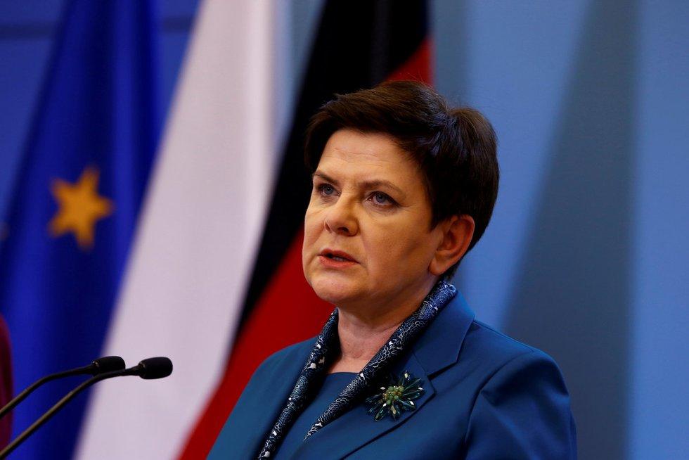Beata Szydlo (nuotr. SCANPIX)