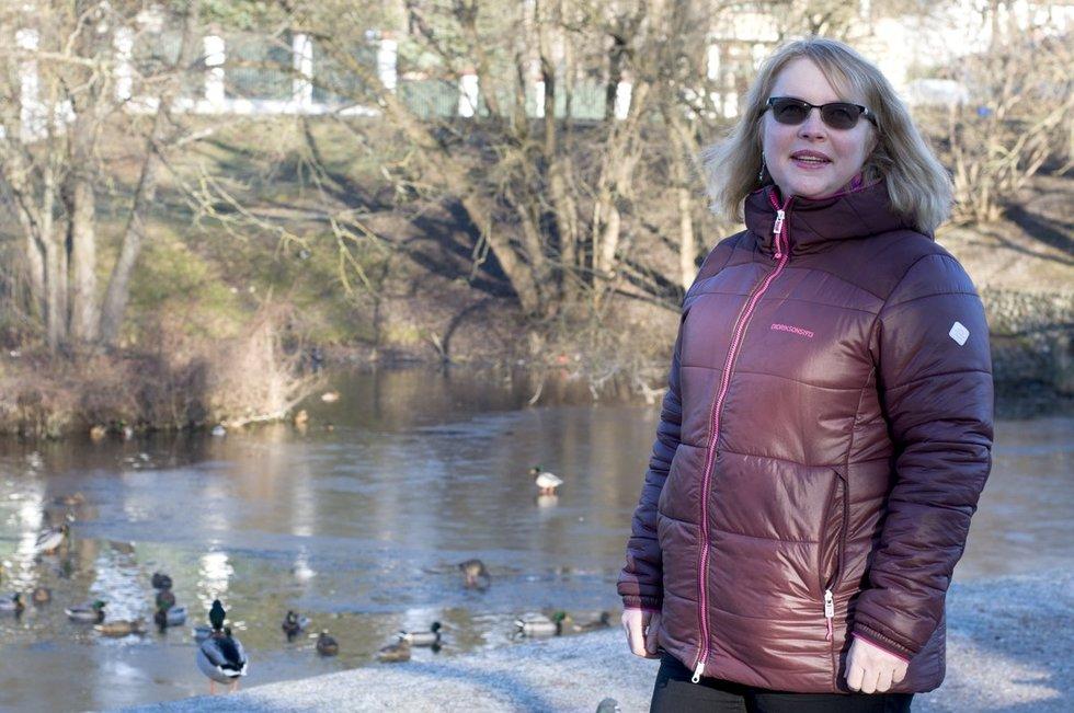 Eglė Kvederaitė bronchine astma serga nuo septynerių metų. Nijolės Zenkevičiūtės nuotr.