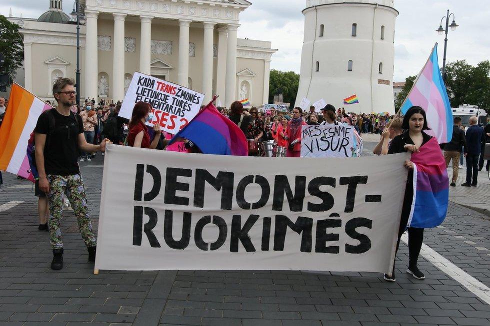 LGBTQ+ bendruomenės eitynes Vilniuje